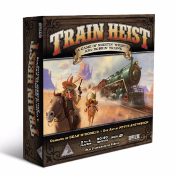 Train Heist box