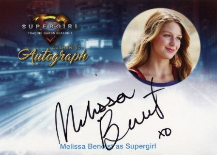 Supergirl Trading Cards Season 1 - Autograph Card - Melissa Benoist