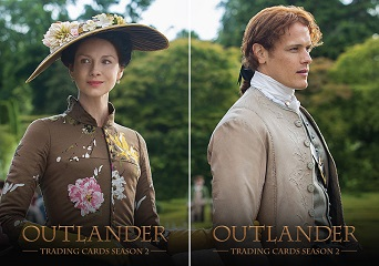 Outlander Trading Cards Season 2 Preview Set