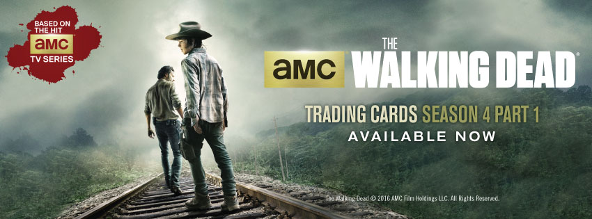 The Walking Dead Season 4, Part 1 Trading Cards Available Now Banner