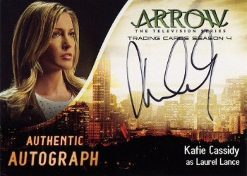 Arrow Trading Cards Season 4-Autograph Card-Katie Cassidy