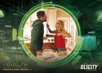 Arrow Trading Cards Season 4 Chase Set - Olicity