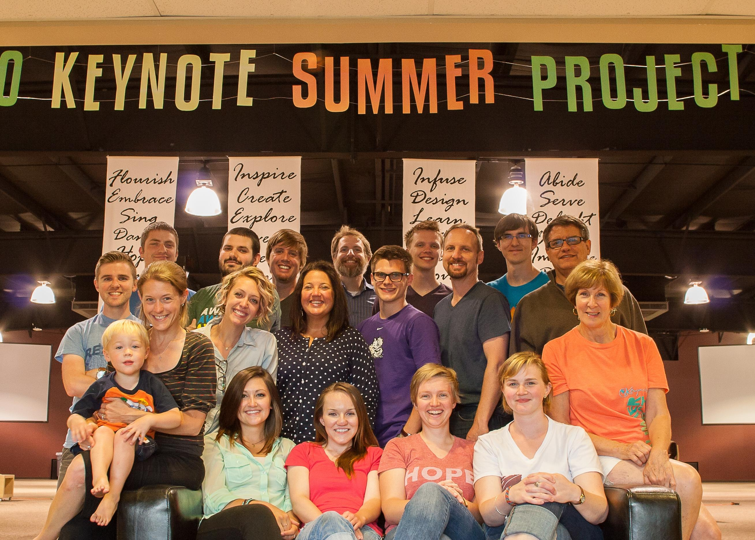 The 2014 Keynote Summer Project