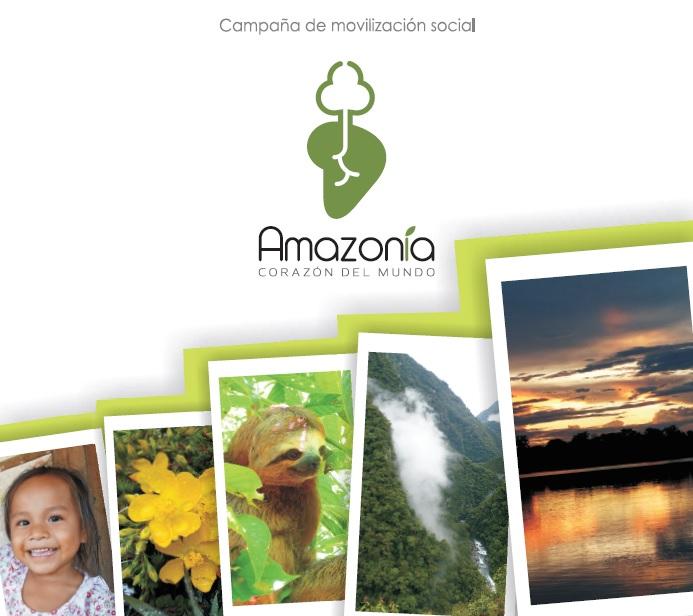 """Brochure """"Amazonía Corazón del Mundo"""""""