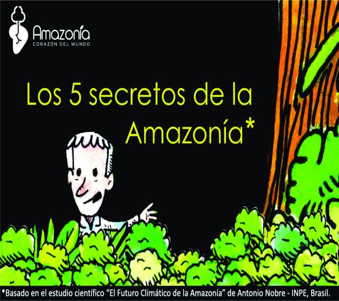 Los 5 secretos de la Amazonía