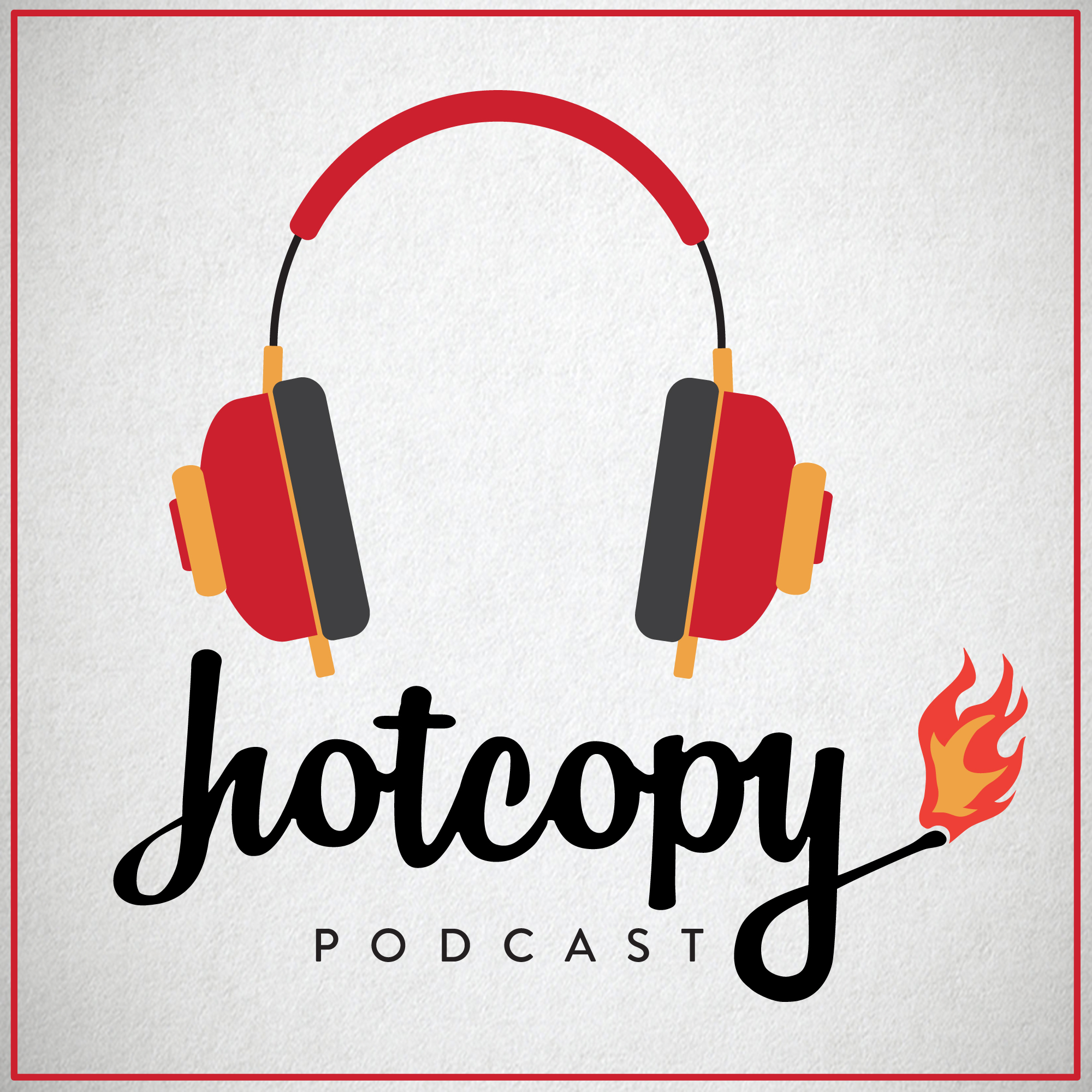 Hot Copy copywriting podcast logo