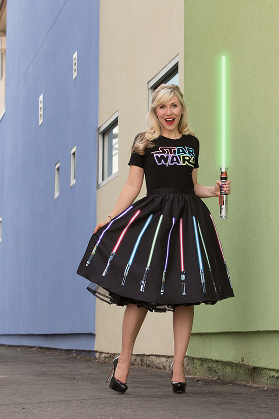 LightSaber outfit