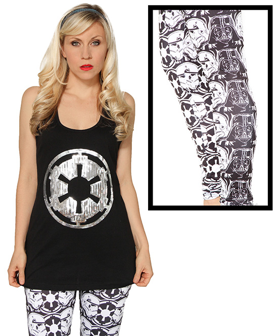 Empire Legging and Imperial Sequin Tank