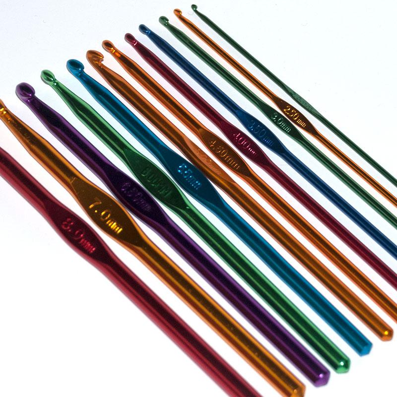 KaP crochet hook colored SE8-800048