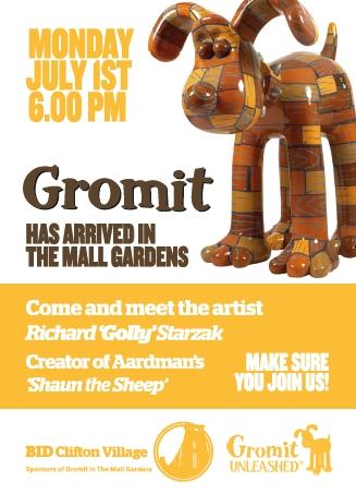 Gromit Poster