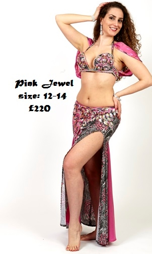 Bellydance costumes to buy from Zara's Zouk