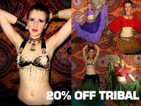 MAKE SURE YOU DISPLAY THE IMAGE !!!  WE LOVE TRIBAL -20% off this month