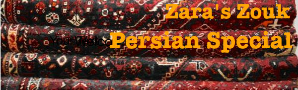 MAKE SURE YOU CAN SEE THE IMAGES -Zara's Zouk Persian Special