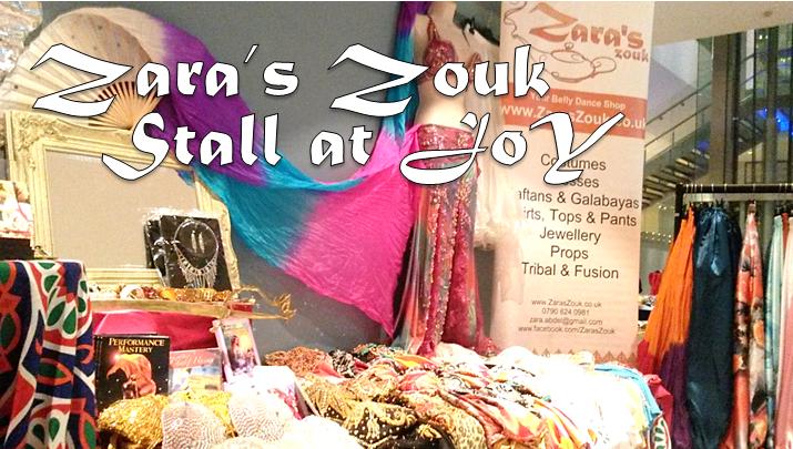 The Zara's Zouk stall live at JoY
