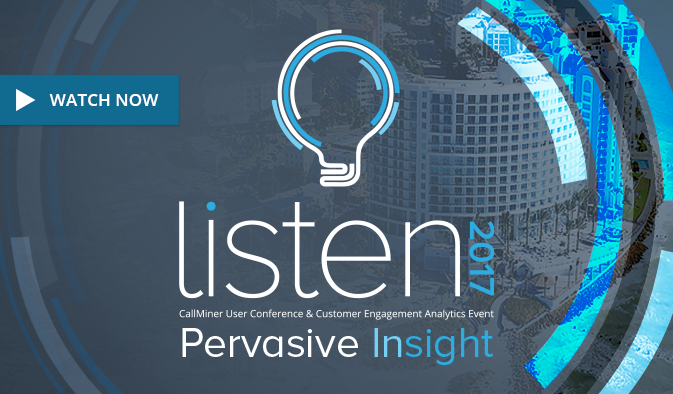 LISTEN2017 | Pervasive Insight | Promo Video