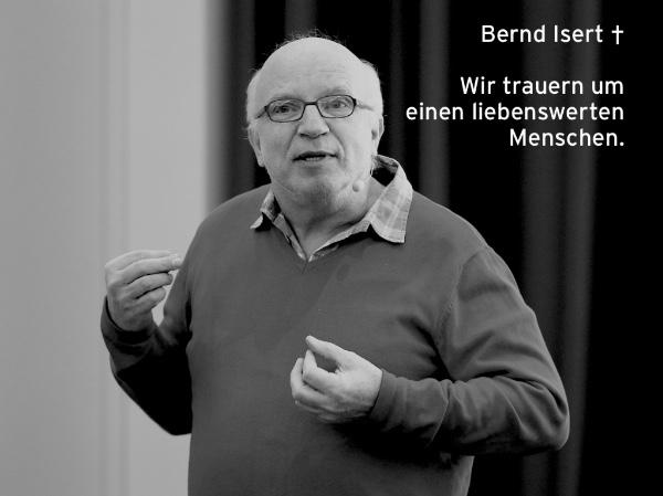 Trauer um Bernd Isert