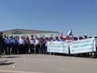 Идёт 9-я неделя профсоюзной акции против испанской компании в Турции