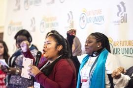 """""""Наше будущее, наш профсоюз"""" – Женская конференция IndustriALL требует перемен"""