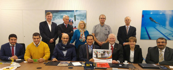 FAI World Air Games Dubai 2015 Organisers and FAI Executive Board