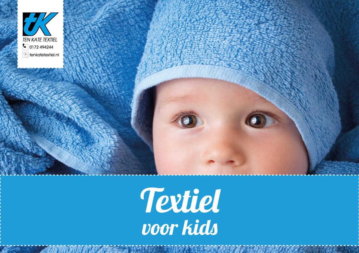Kinderdagverblijven textiel van Ten Kate Textiel
