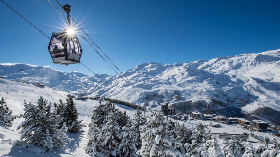 La station de ski des Menuires ©G.Lansard