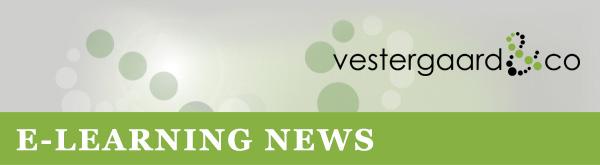 E-learning nyheder fra Vestergaard & Co.