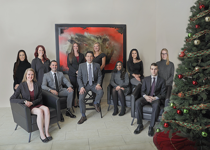 Grover Law Firm Holiday Photo