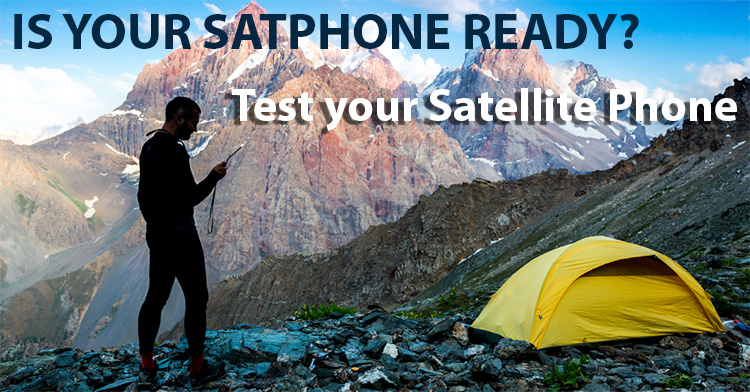 Is Your Satphone ready