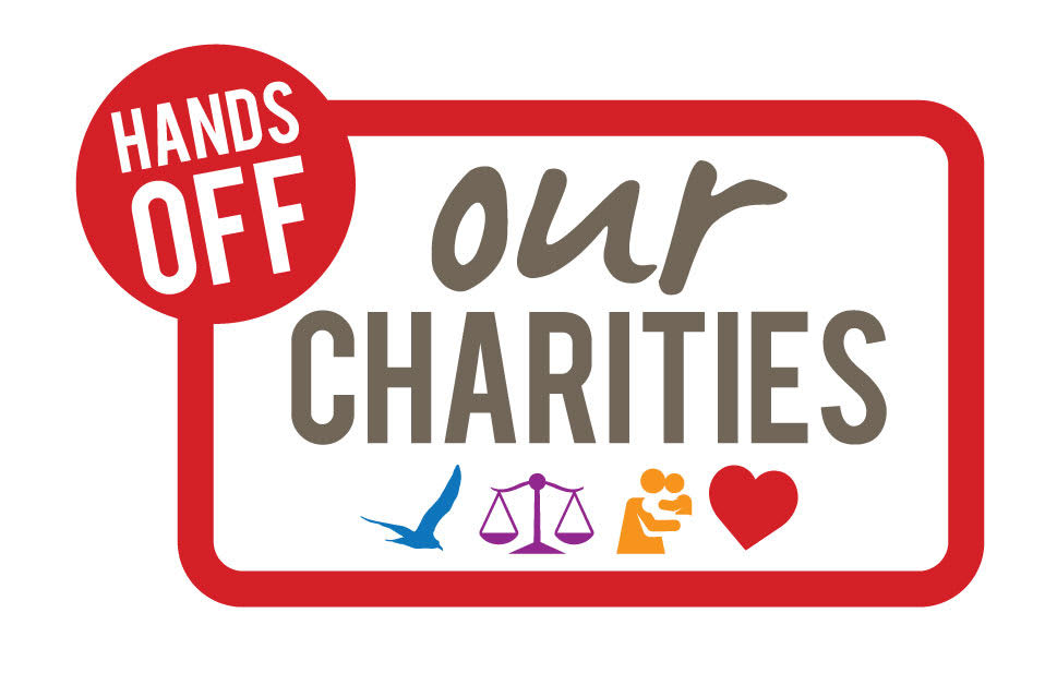 Hands off our charities