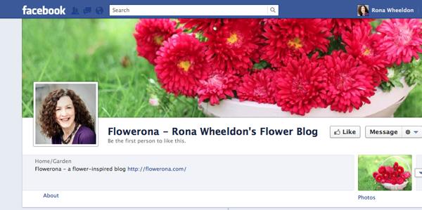 Flowerona on Facebook