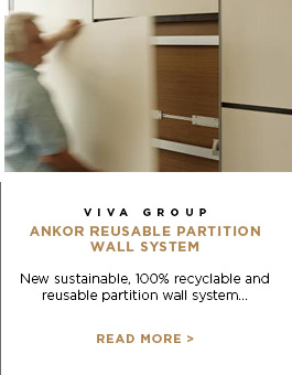 Viva Group - Ankor Reusable Partition Wall System