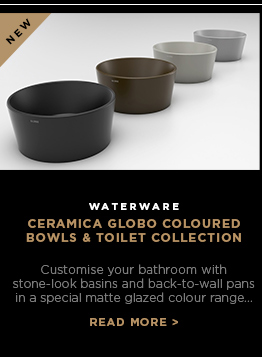 Ceramica Globo Coloured Bowls and Toilet Collection