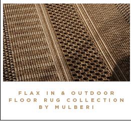 Flax in & Outdoor Floor Rug Collection