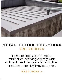 Metal Design Solutions - Zinc Roofing