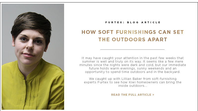 Blog Article: How Soft Furnishings can set the outdoors apart