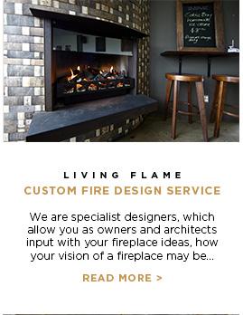 Living Flame - Custom Fire Design Service