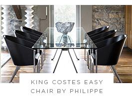 King Costes Easy Chair