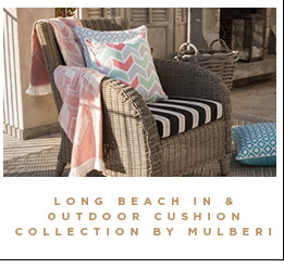 Long Beach in & outdoor Cushion Collection