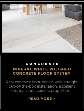 Concreate Mineral White Polished Concrete Floor System