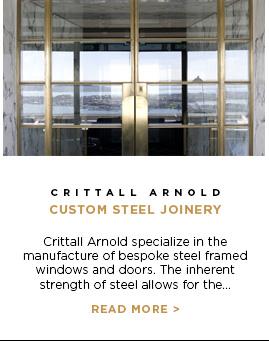 Crittall Arnold - Custom Steel Joinery
