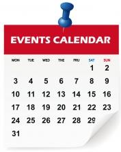 Visit the online Events Calendar