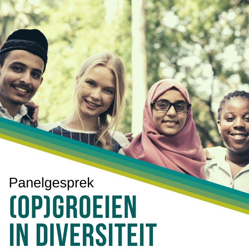 panelgesprek (op)groeien in diversiteit