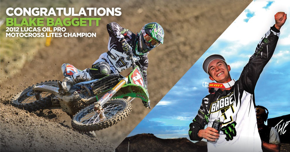 SCOTT Sports congratulates Baggett and Fiolek‏