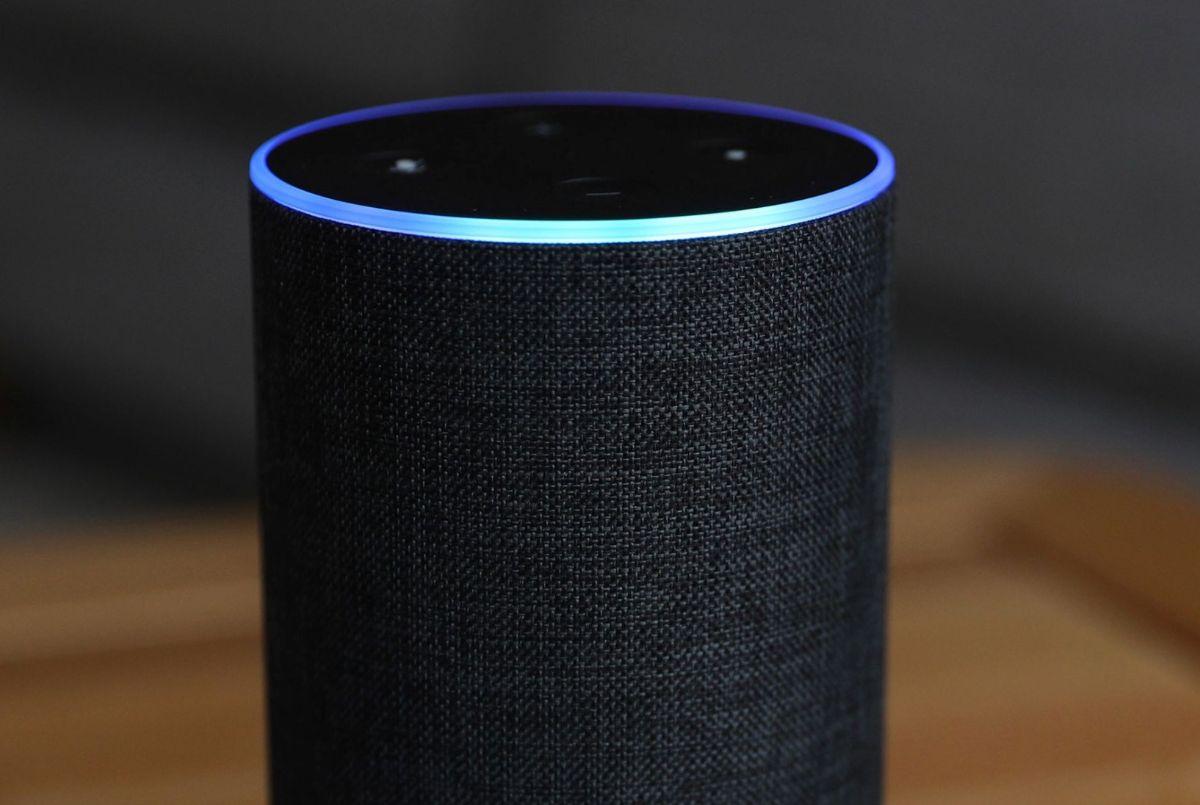 Photo of an Echo speaker
