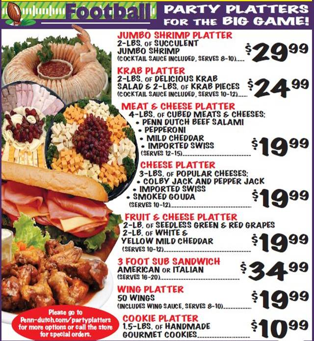 New Party Platters