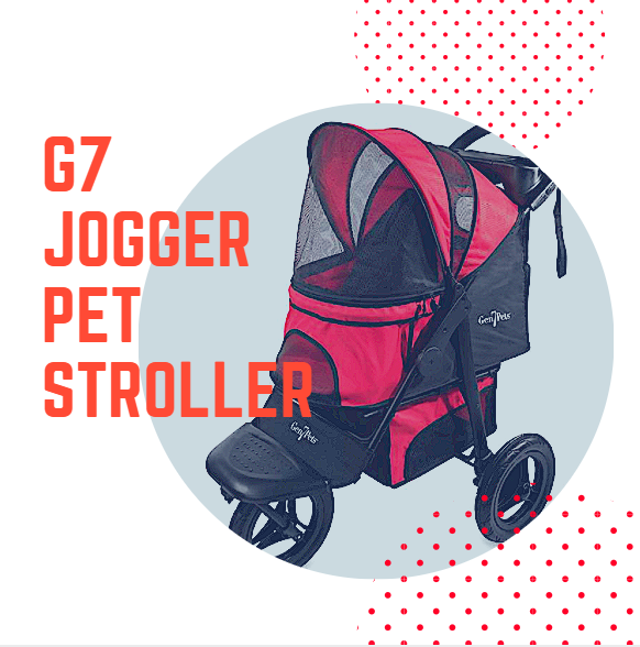 G7 Jogger™ Stroller for Pets up to 75 lbs