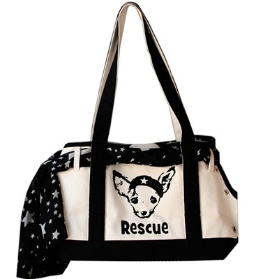 Cute Canvas Boat Rescue Over the Shoulder Bag at Pet Stop Store