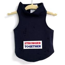 Stronger Together Black Dog Tank at Pet Stop Store
