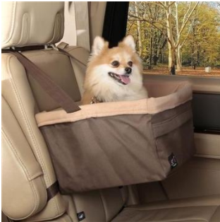 Medium Elevated Car Booster Seat for Pets up to 12lbs