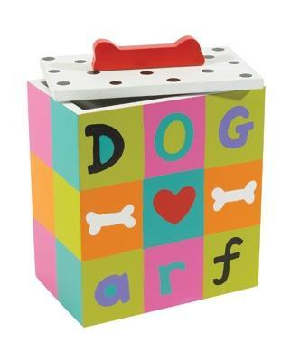 Cute & Colorful Hand Painted Collection Arf Dog Treat Box at Pet Stop Store